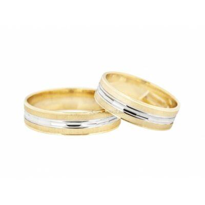 14 Karátos arany karikagyűrű
