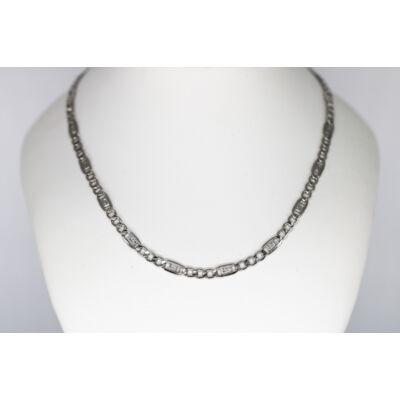 Görög mintás ezüst lánc