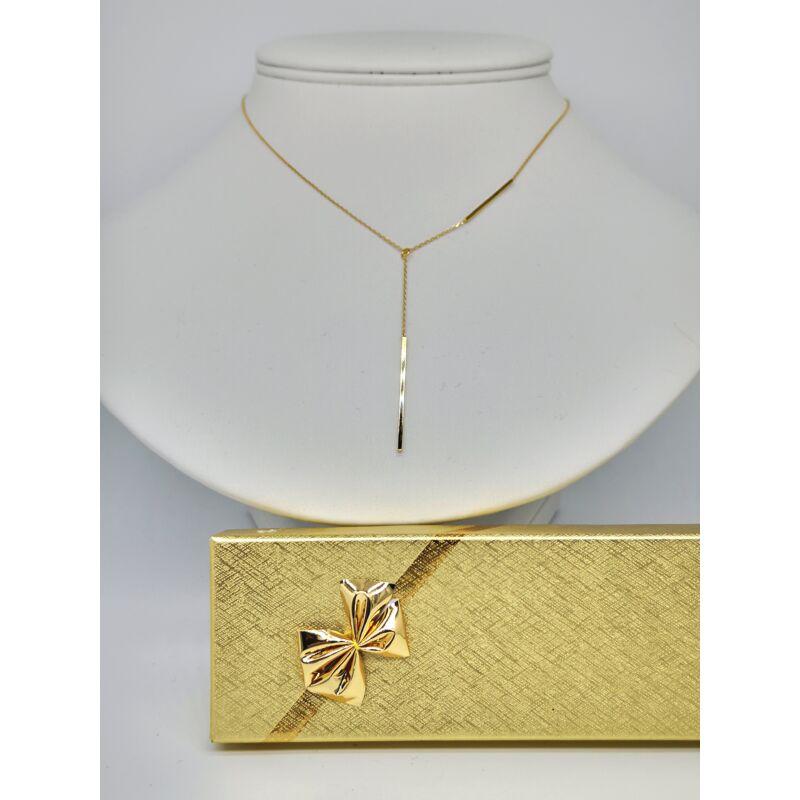 Arany lánc medállal  díszdobozzal