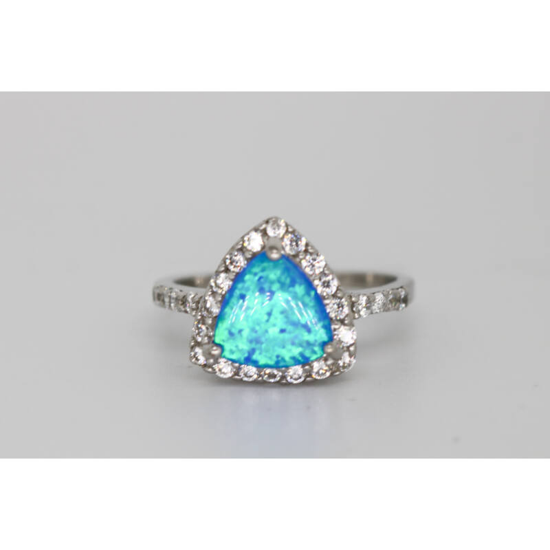 Köves opál gyűrű