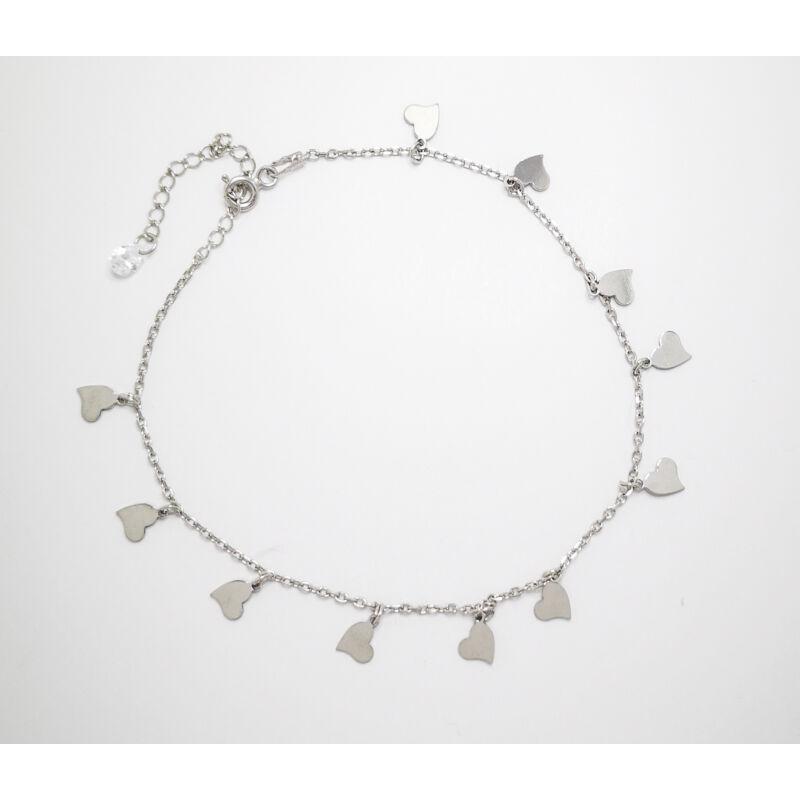 Elegáns Szíves ezüst bokalánc