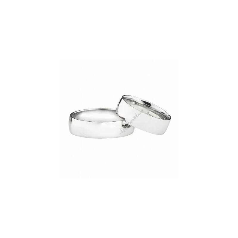Hagyományos fazonú ezüst karikagyűrű