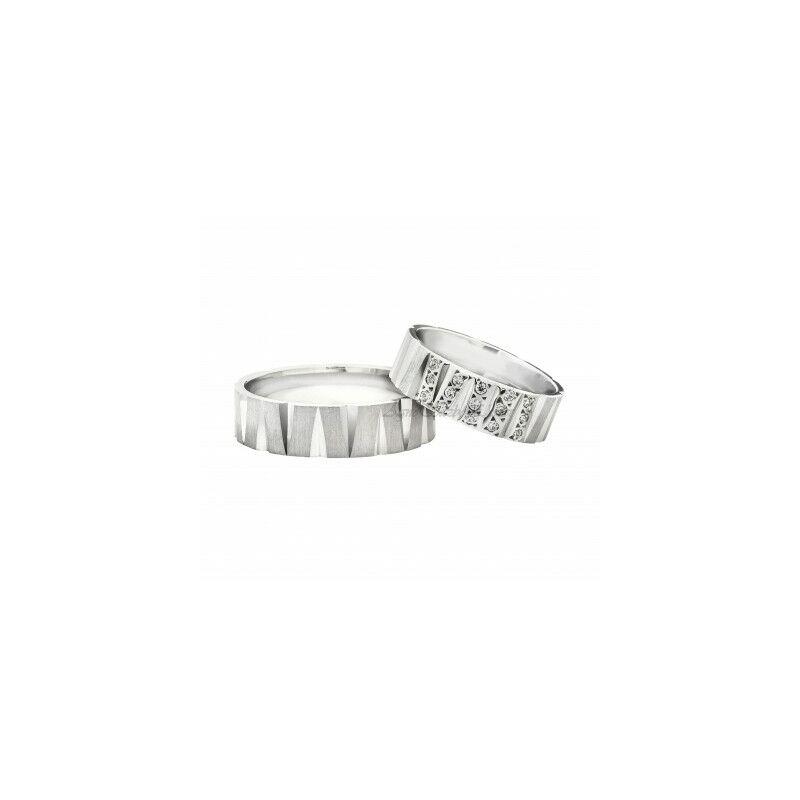 Egyedi ezüst Karikagyűrű