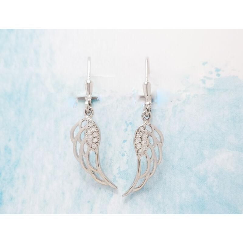 angyal szárny lógó fülbevaló
