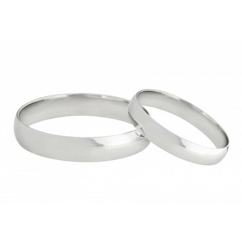 Fehérarany hagyományos fazonú karikagyűrű