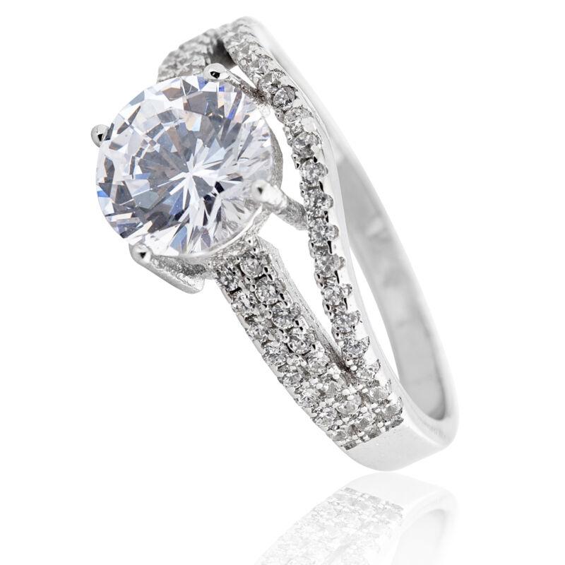 Hercegnő style ezüst gyűrű