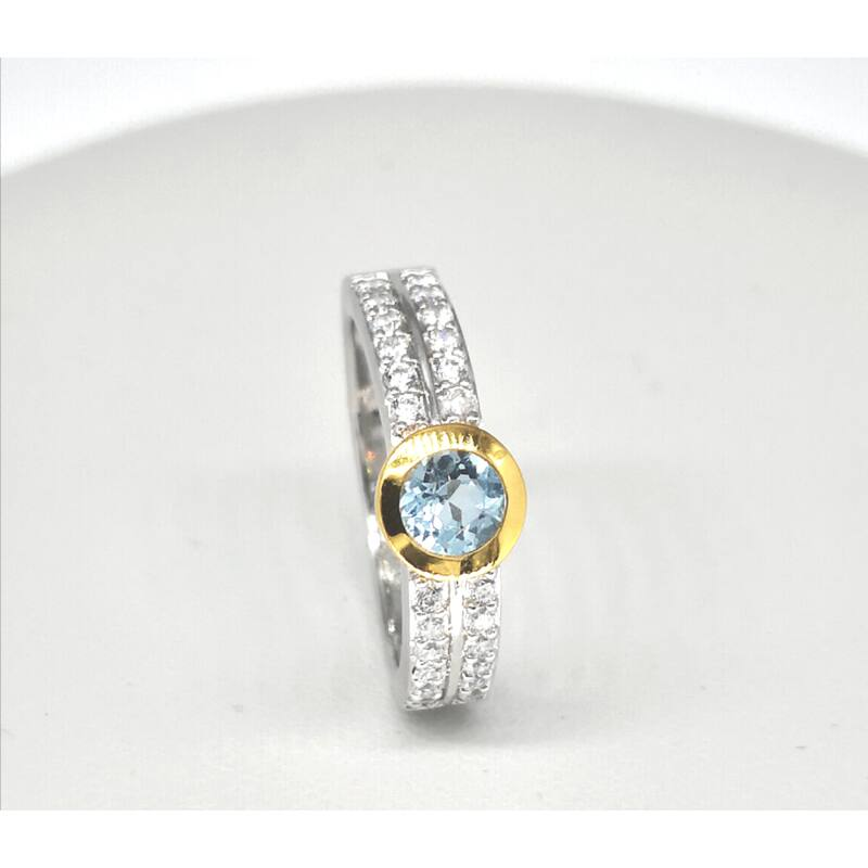 Liza köves ezüst gyűrű