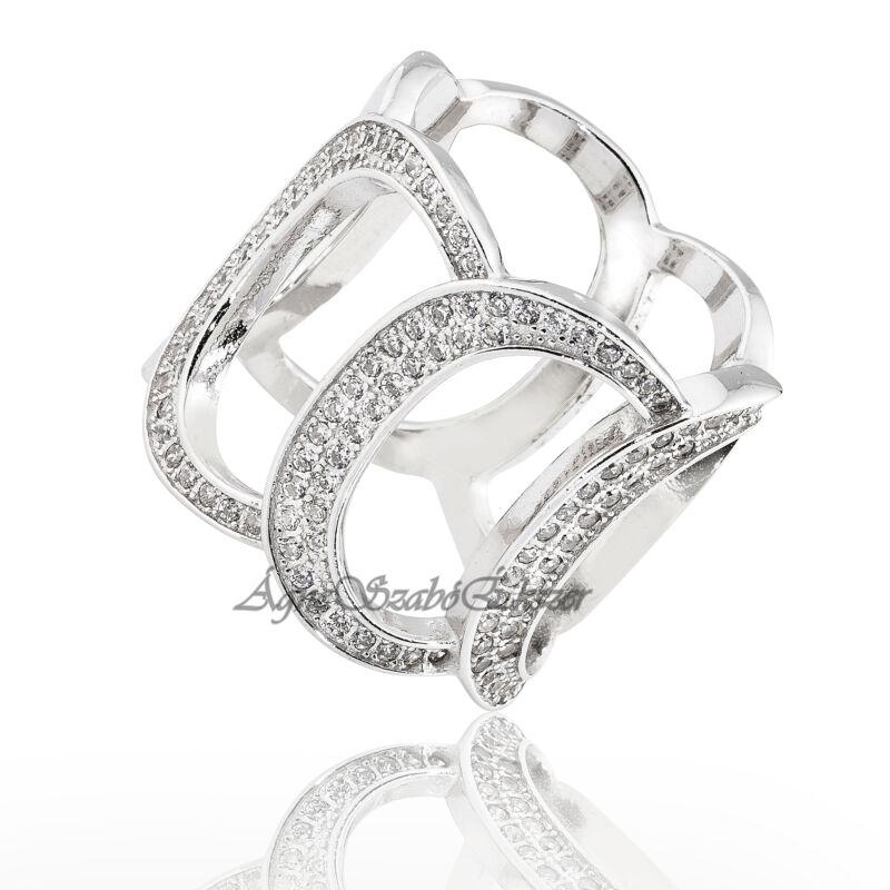 Exklúzív ezüst gyűrű