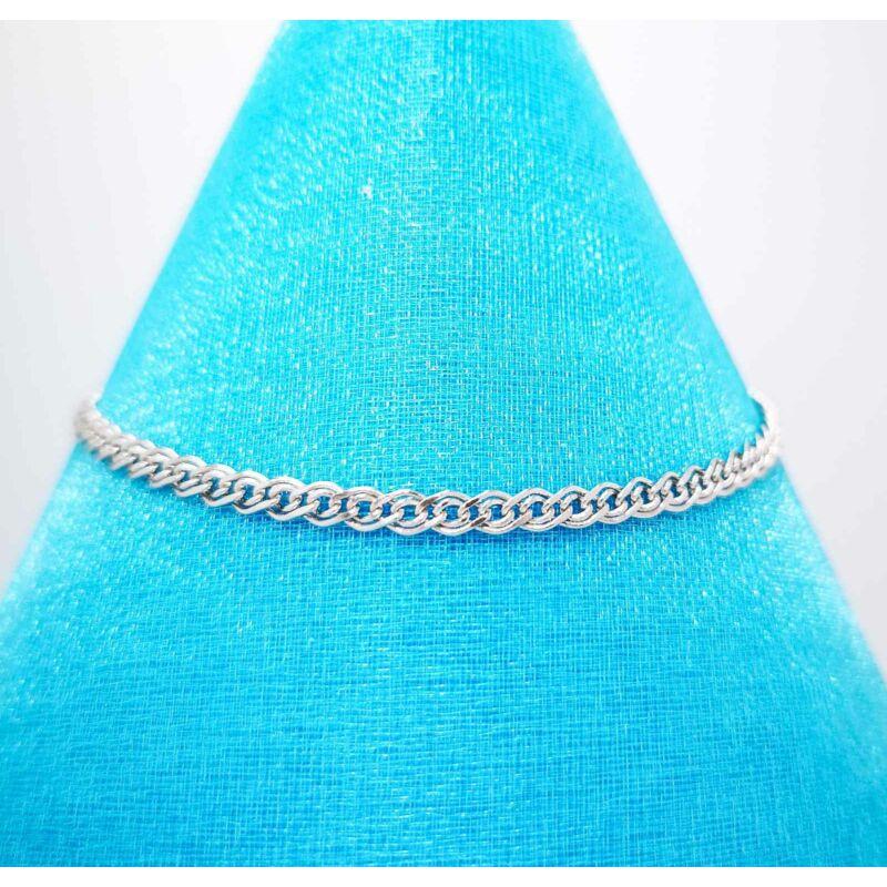 meseszép Monalisa típusú ezüst karkötő