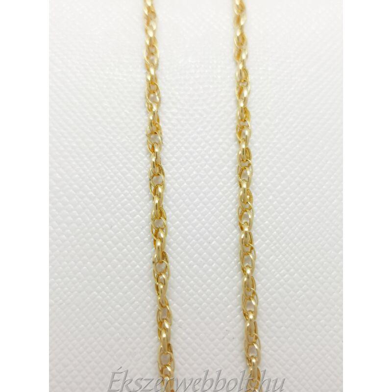 14 karátos arany különleges nyaklánc