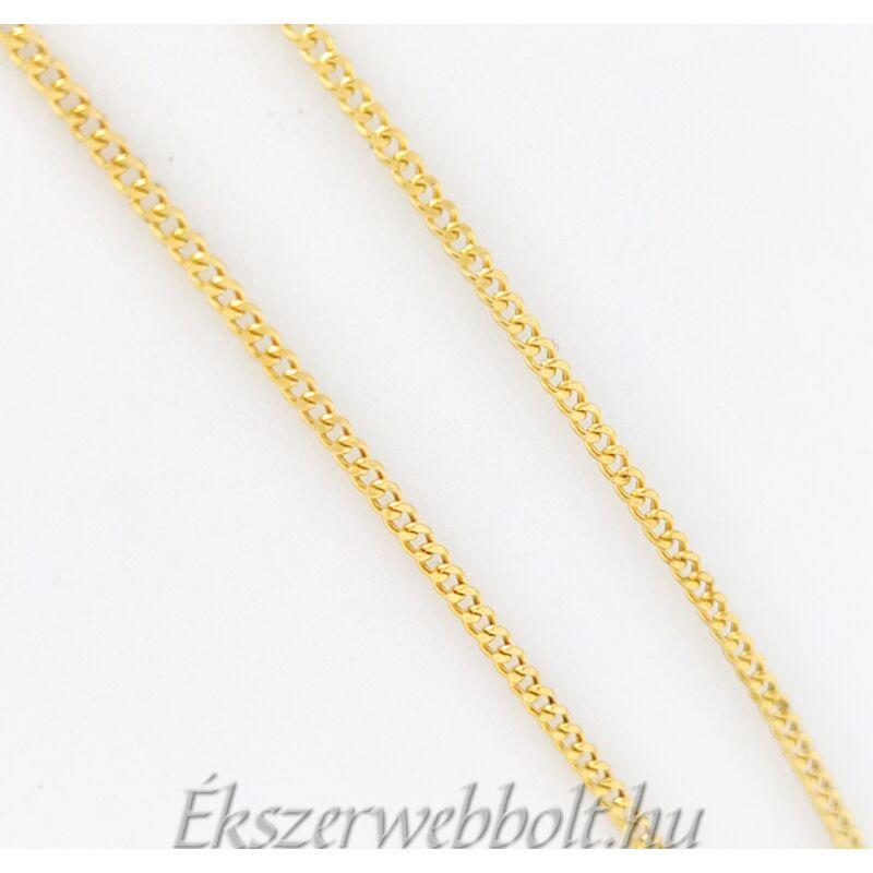 elbűvölő 14 karátos arany nyaklánc