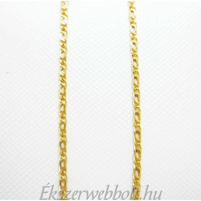 klasszikus arany nyaklánc