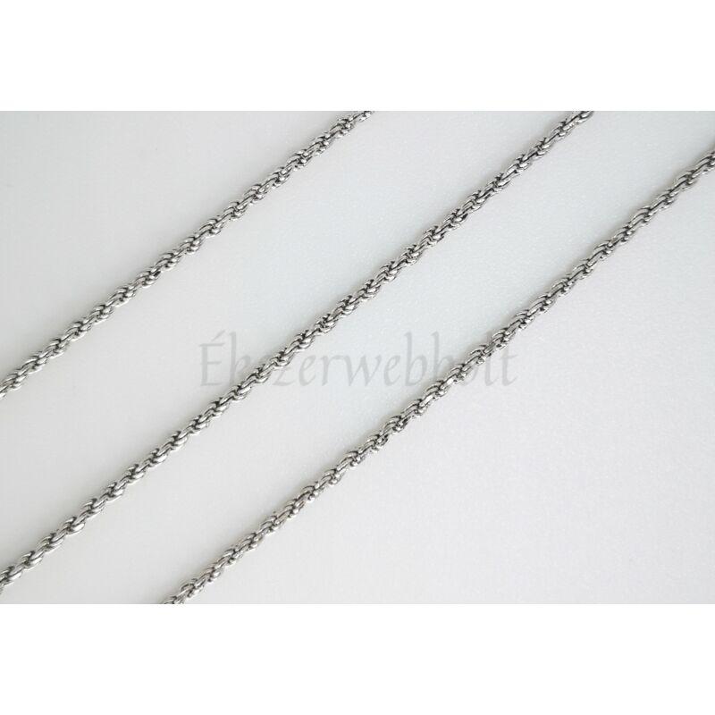 Csavart Walles típusú ezüst nyaklánc