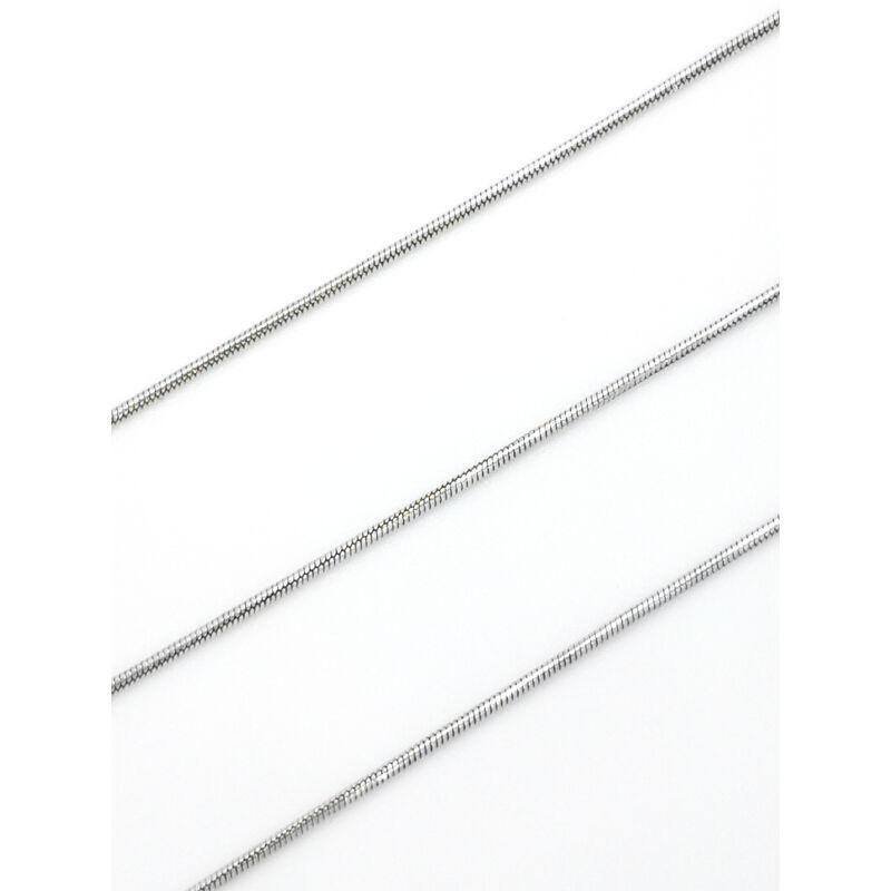 ezüst kígyó típusú nyaklánc állítható