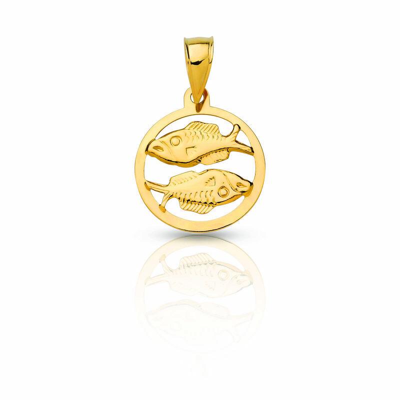 14 Karátos horoszkópos arany medál, bármilyen horoszkóppal rendelhető!
