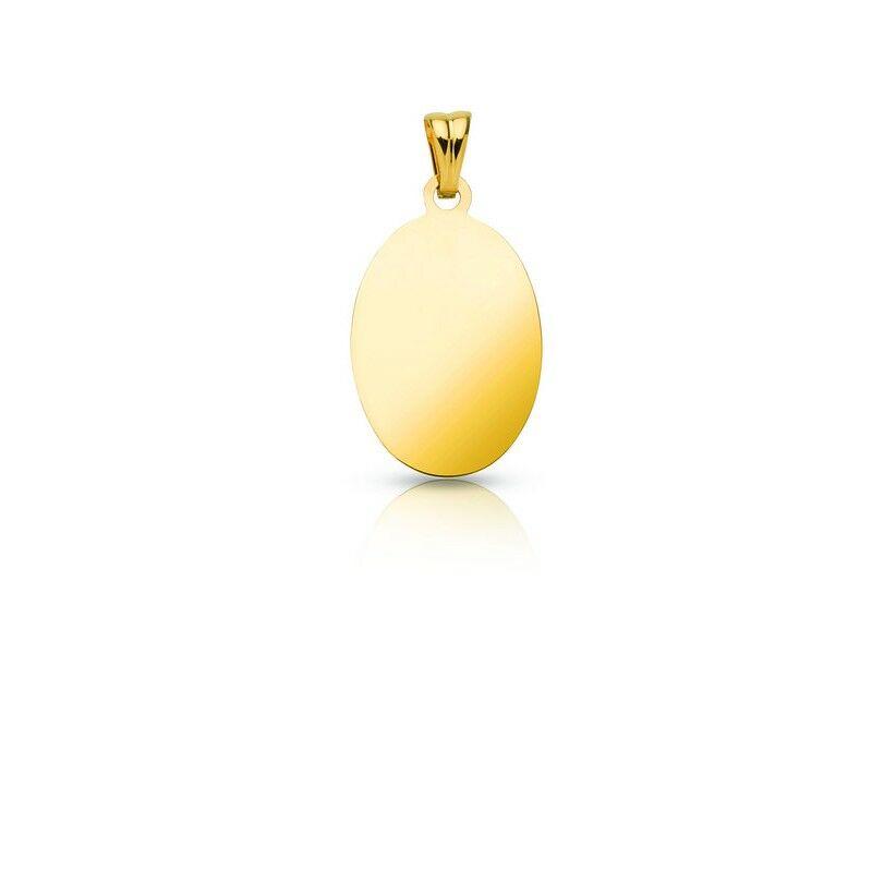Gravírozható 14 Karátos arany medál