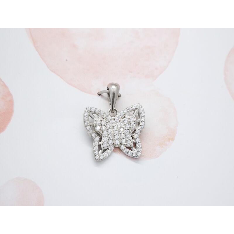 Bájos Köves pillangó medál